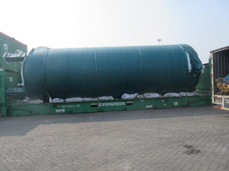 Specifications of 50,000L CO2 Storage Tank